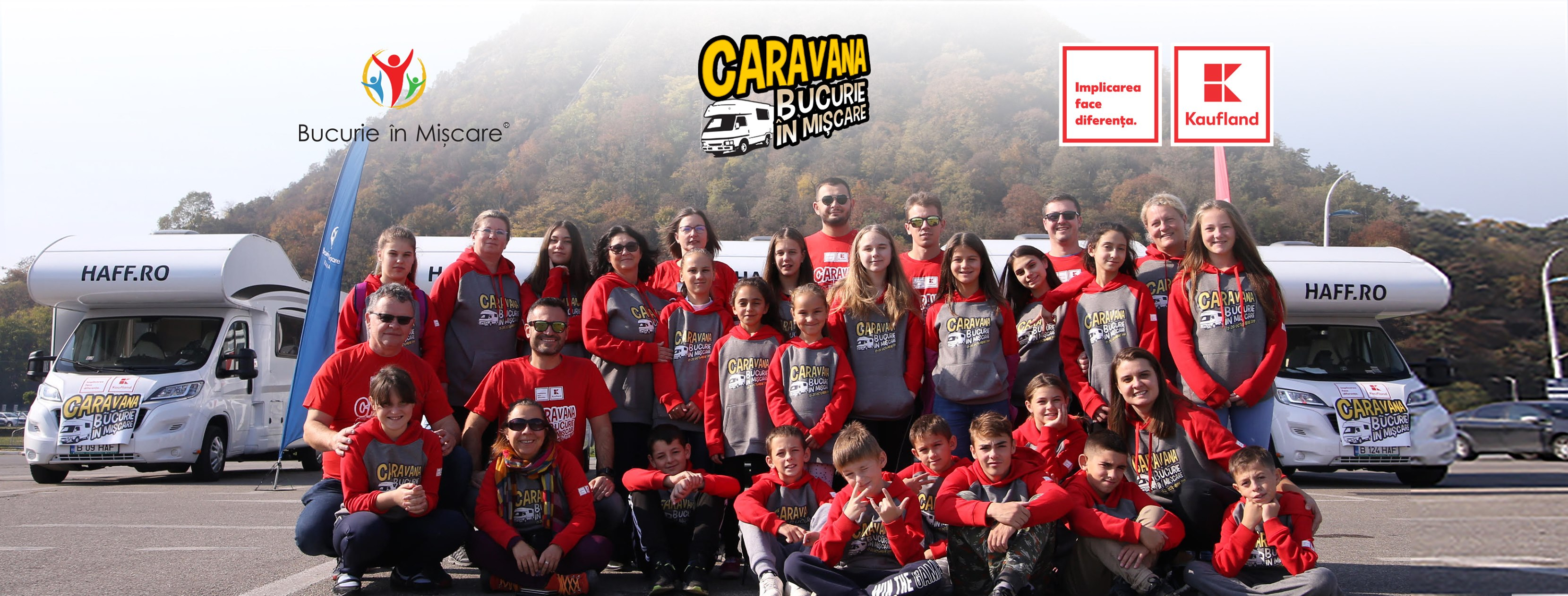 Caravana Bucurie în Mișcare