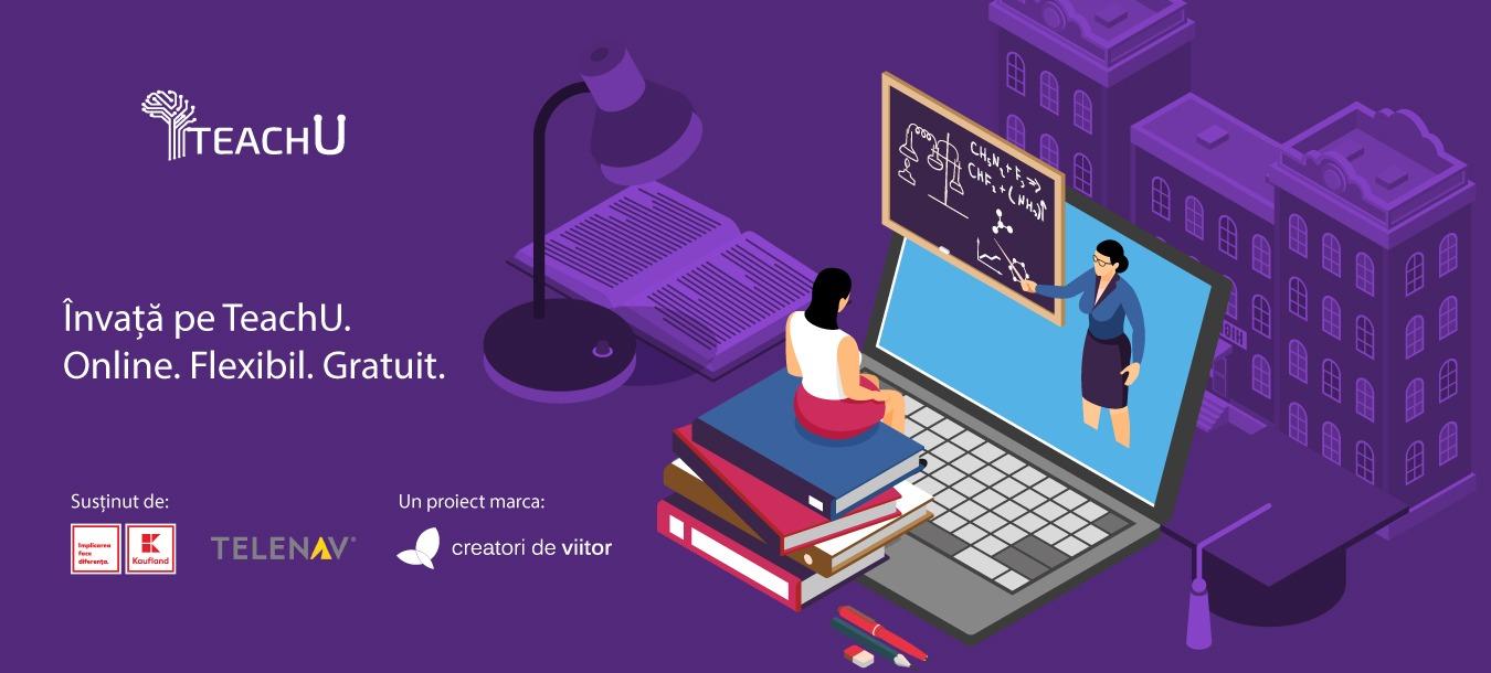 Un an de TeachU – prima platformă de meditații online, gratuite, din România